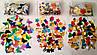 Конфетти разноцветные сердечки (фольга) Dzyga, фото 3
