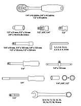 Набор ключей 219 шт + ключи TORX 40 шт, фото 2