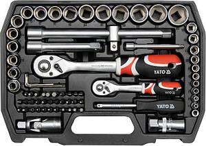 Набор ключей YATO YT-38782 72 шт, фото 2
