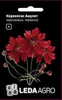 Семена кореопсиса Амулет, 0,2 гр., карликовый, красный