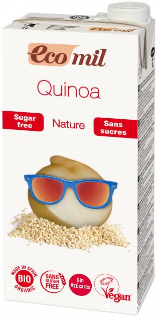 Органическое молоко из киноа с сиропом агавы без сахара, ТМ Eco Mil