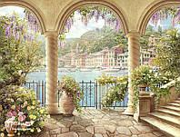 """Рельефные фотообои ручной работы """"Балконы и террасы"""""""