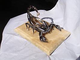 """Сувенир """"Скорпион"""" из серебра"""