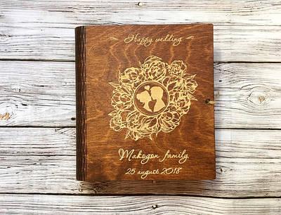 Фотоальбомы и книги для пожеланий