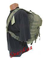 Рюкзак тактический через плечо  36 литров Assault Olive  MIL-TEC