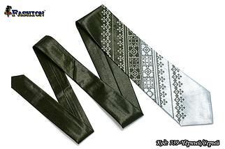 Мужской вышитый галстук стихии Воздух, фото 3
