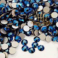 Стразы Swarovski Xirius, цвет Metallic Blue, размер ss16 (4мм), 100шт