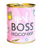 """Консерва-носок """"Girl boss"""""""