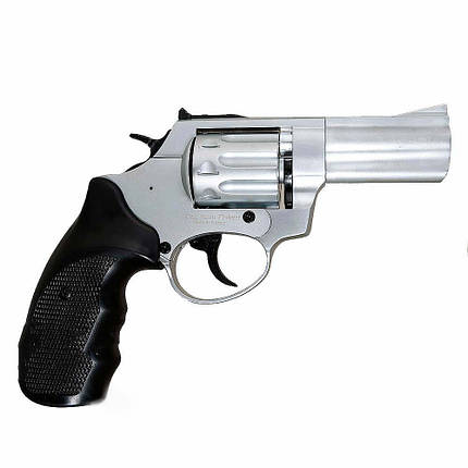"Револьвер под патрон Флобера Ekol 3"" Chrome, фото 2"