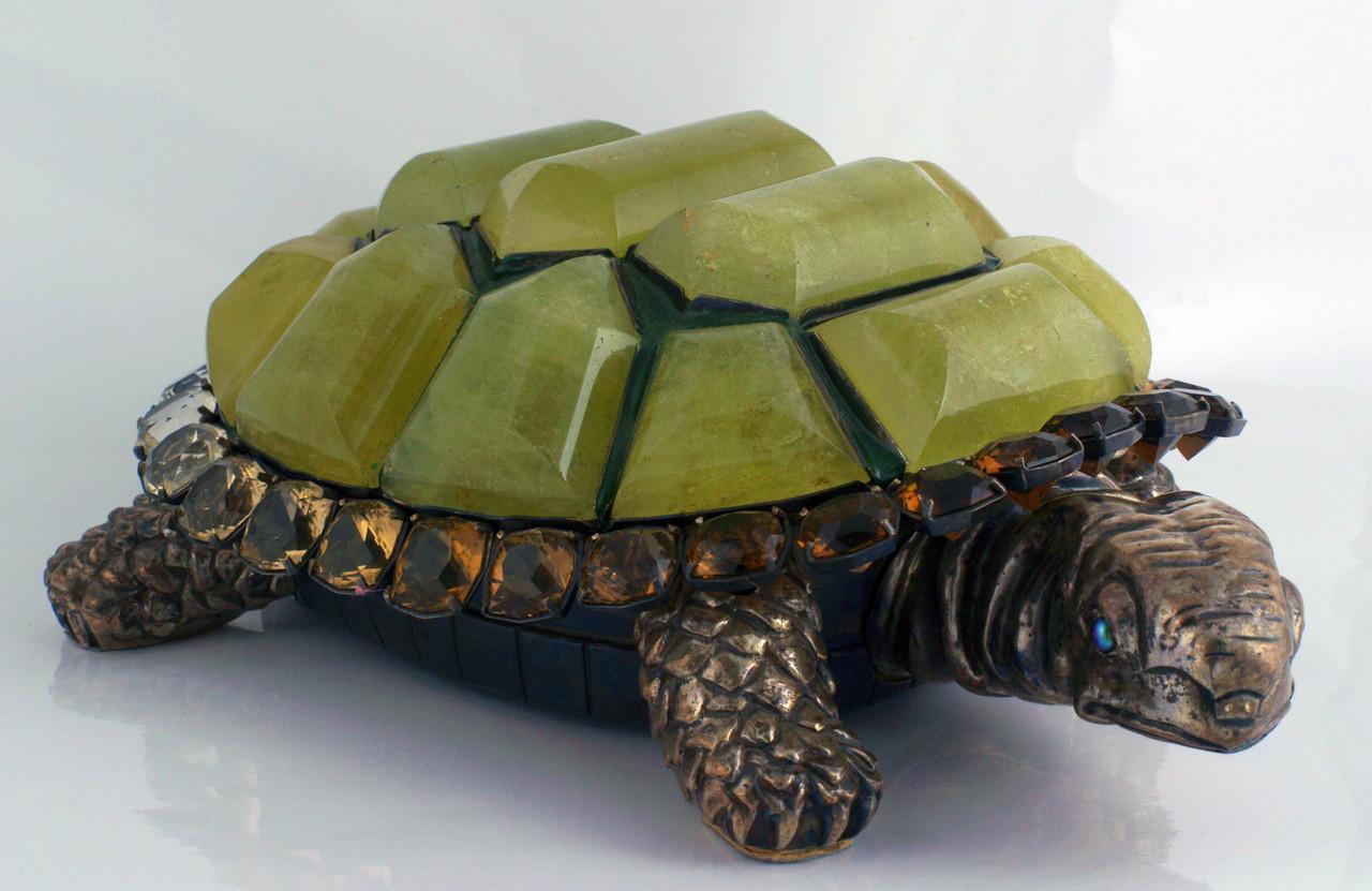 """Сувенир """"Черепаха"""" из серебра"""