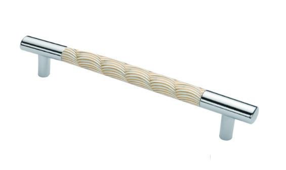 Ручка меблева Ozkardesler DESENLI 14.262-05 320мм Хром-Матове Золото