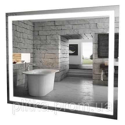 Зеркало Альфа 100 см с LED подсветкой, фото 2