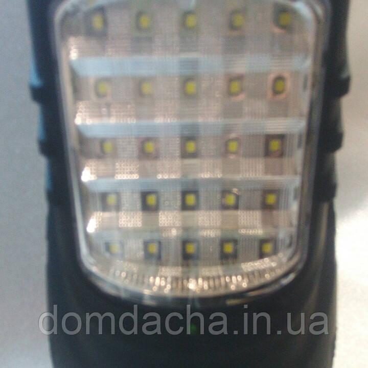 Фонарь LEDФонарь ASK 2829 TP ( 5 Вт. 25LED ) ручной аккумуляторный переносной