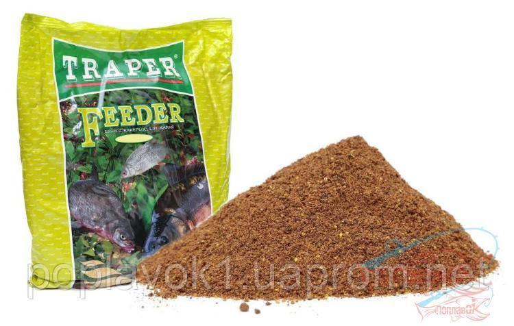 Прикормка TRAPER Popular 2,5кг. Feeder (Фидер)