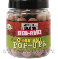 Бойлы Dynamite Baits Corkball Pop-Ups - 15мм Red-Amo