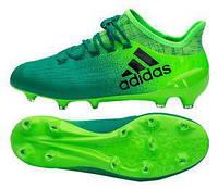 Бутсы пластик Футбольные бутсы Adidas X 16.1 FG BB5839(00-03-06) b585729313996