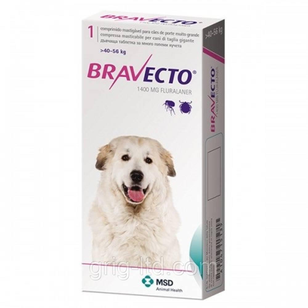 Бравекто (Bravecto) таблетка 1400 мг