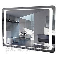 Зеркало Омега 100 см с LED подсветкой