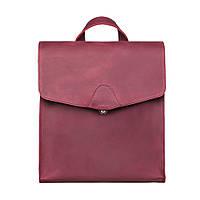 Кожаный рюкзак женский виноградный