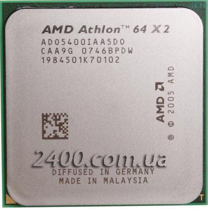 Процессор AMD Athlon 64 X2 5400+ (2800MHz, сокет AM2) ADO5400IAA5D0