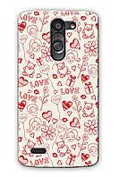 Чехол для LG L Bello Dual D335 (Love)