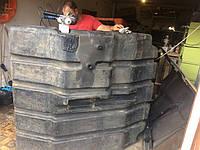 Ремонт пластиковых топливных баков комбайна John Deere