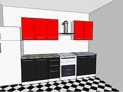 Кухня Бьянка 2 метра