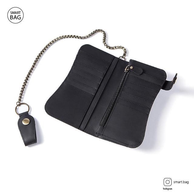 Кожаный кошелек Marrant | черный