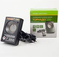 Ультразвуковой прибор от грызунов Торнадо-200 (200 м2)