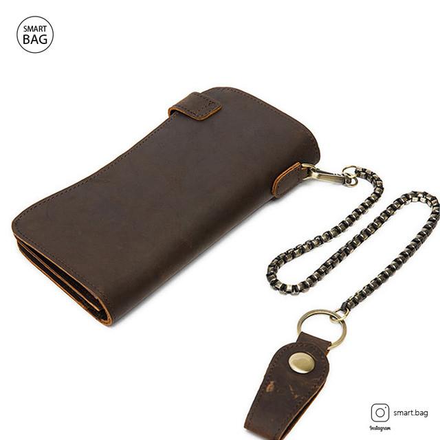 Кожаный кошелек Marrant | темно-коричневый