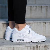 Кроссовки Оригинал Nike Air Max 90 Leather (GS) (833412 027