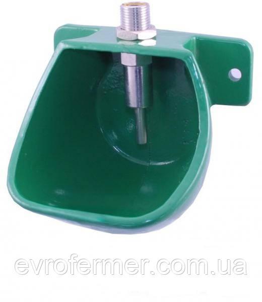 Автоматическая чугунная поилка для свиней на откорме МР-10