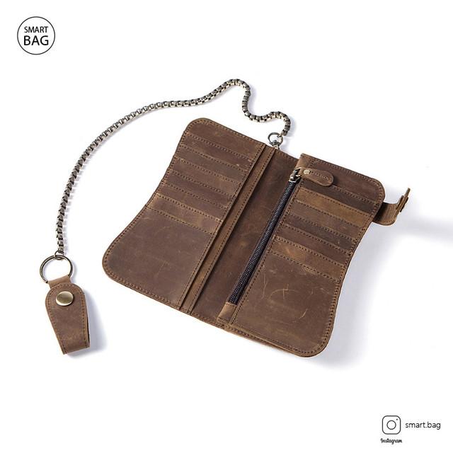 Кожаный кошелек Marrant | коричневый