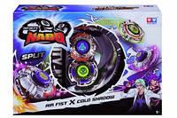 Волчок Auldey Infinity Nado Сплит Air Fist и Cold Shadow с устройством запуска YW624603