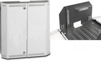 Hypernet DYN-WMNC-SLIM-10U Шкаф коммутационный настенный 5U+5U 19'' металл дверь 522х250х480 Hypernet DYN-WMNC-SLIM-10U
