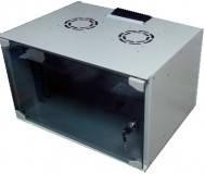 Hypernet GD-WMNC-12U-FLAT Шкаф коммутационный настенный 12U 600x400 Soho Line стекл.дверь Hypernet GD-WMNC-12U-FLAT
