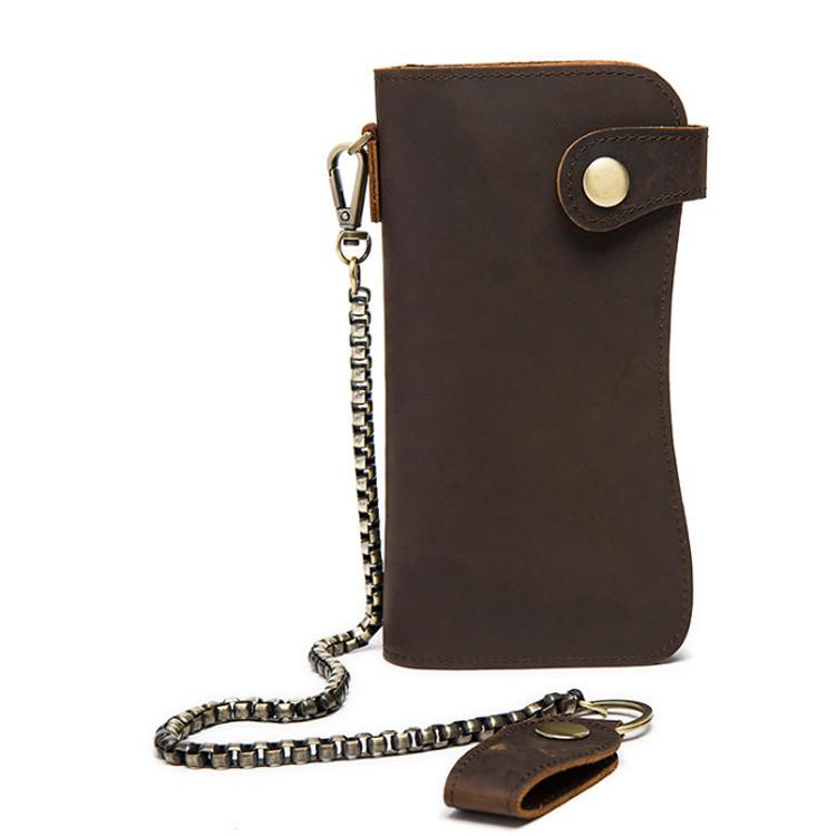 Кожаный кошелек Marrant Темно-коричневый