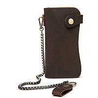 Кожаный кошелек Marrant Темно-коричневый, фото 1