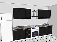 Кухня 2,5 метра Бьянка