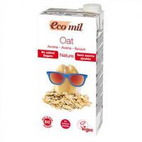 Органическое овсяное молоко EcoMil без сахара 1л