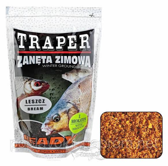 Прикормка TRAPER zimowa ready 0,75 kg Leszcz (Лещ)