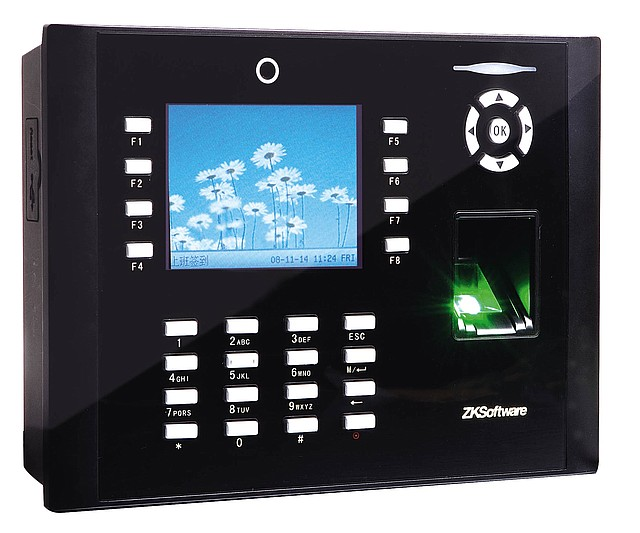 Система учета рабочего времени сотрудников ZKTeco iClock660