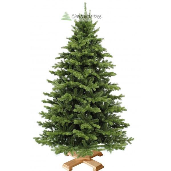 """Елка """"Еловый лес"""" на деревянной подставке 225 + гирлянда в подарок"""