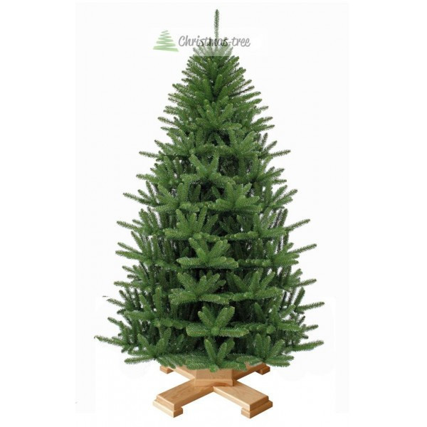 """Елка """"Альпийское рождество"""" на деревянной подставке 225 + гирлянда в подарок"""