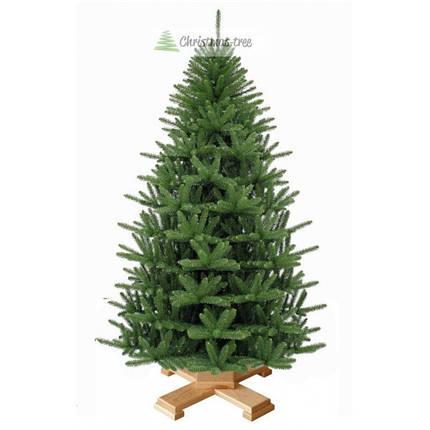 """Елка """"Альпийское рождество"""" на деревянной подставке 225 + гирлянда в подарок, фото 2"""