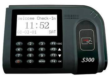 Система учета времени по proximity-картам ZKTeco S300
