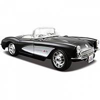 Автомодель (1:24) 1957 Chevrolet Corvette 31275 black