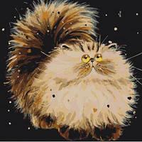 """Картина по номера Животные, птицы """"Маленький пушистик"""" KHO4036"""