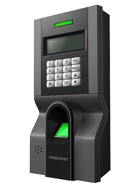 Система управления доступом в помещение по отпечатку пальца ZKTeco F8
