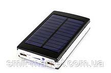 Power Bank c солнечной батареей+LED 30000, фото 2